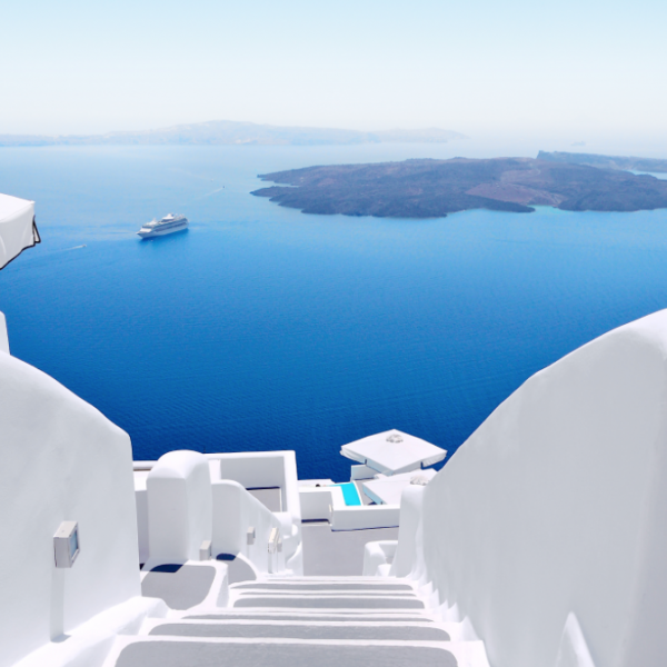 Santorini it is...