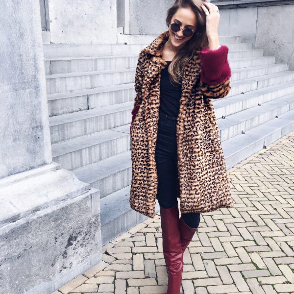 Leapard Coat